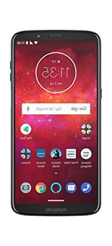 Moto Z3 Play – 64 GB – Unlocked  – Deep Indigo – Pri