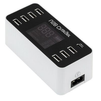 Multi-Function 8A USB Adapter for Mobile