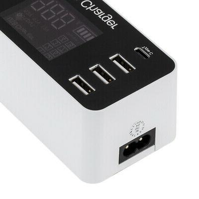 Multi-Function 8A USB Adapter Power for Mobile Phone
