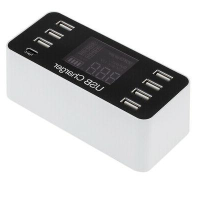 Multi-Function 8A USB Power Charger for Phone