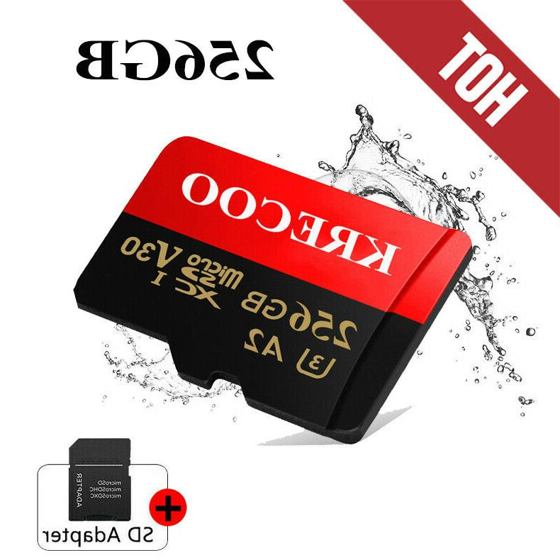 new 256gb micro sd sdhc memory card
