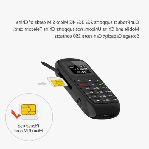 New Small GSM Mobile Phone Bluetooth Dialer Cellphone