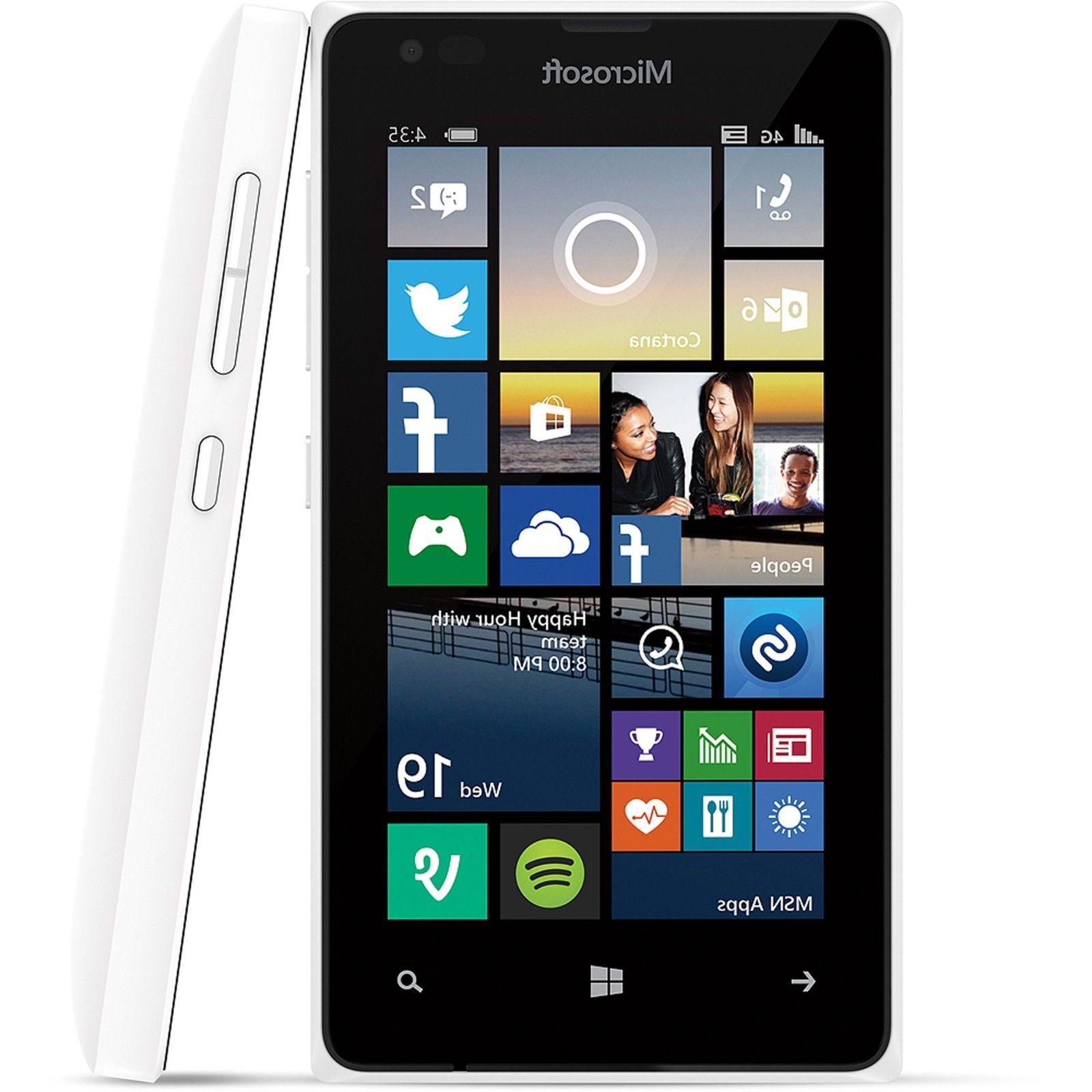 New INBOX Nokia Lumia 530 - 4GB WHITE GLOBAL GSM Unlocked Sm