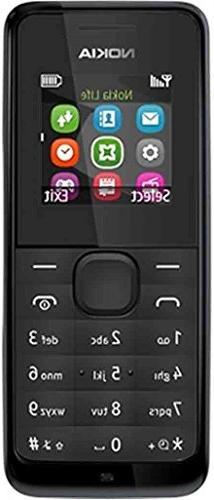 Nokia 105 RM-1135 Dual-Band  Factory Unlocked Mobile Phone B