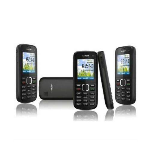 Nokia C1-02 Black Unlocked Simple Basic Phone GSM Cellphone