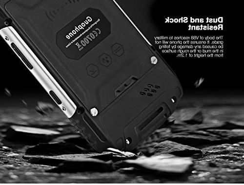 Hipipooo V88 Shakeproof 5.1 Phone 4.0 QHD Mtk6580 Card Slot