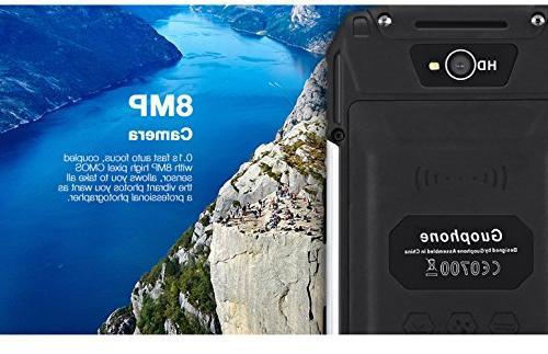 Hipipooo V88 Shakeproof Smartphone 5.1 3G Mobile Phone IPS QHD SIM Card Slot