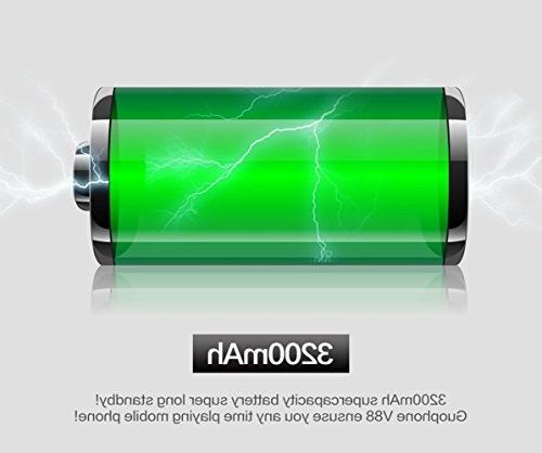 Hipipooo Waterproof Shakeproof 5.1 Phone 4.0 QHD Mtk6580 Card