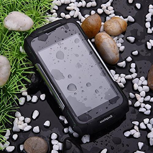 Hipipooo V88 Dustproof 5.1 Unlocked Phone 4.0 IPS QHD Mtk6580 SIM Card