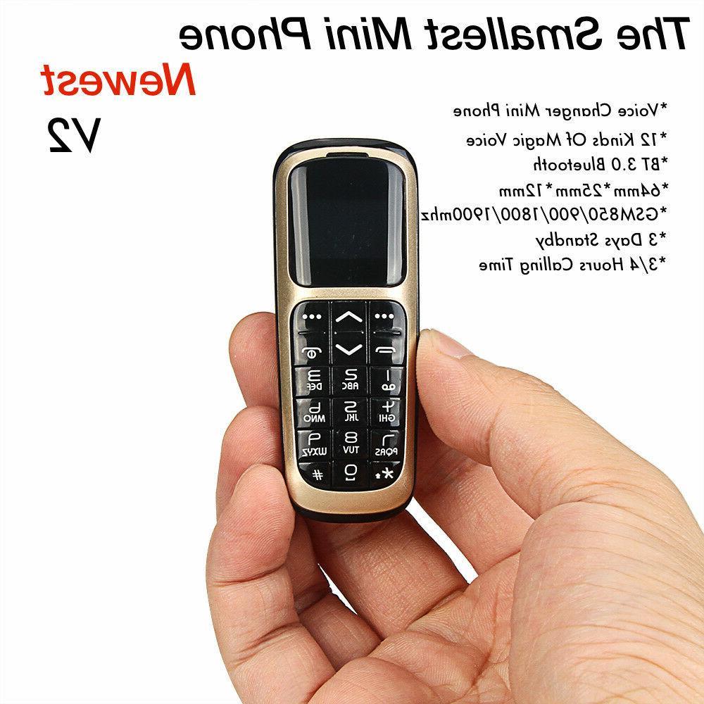 Original Long-CZ V2 Bluetooth Mini Magic Voice Mobile Phones