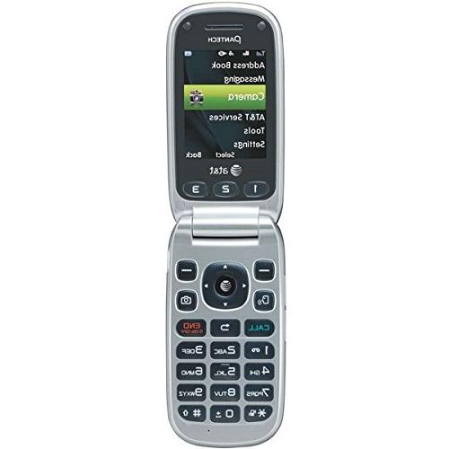 Pantech 3 AT&T Cell Flip AT&T Phone / On Your