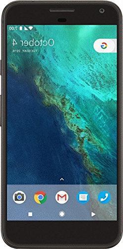 Google 32 GB Pixel Verizon and GSM Unlocked, Quite Black, 5