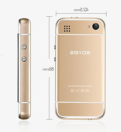 """Pocket Smartphone GSM Mini Cellphone 2.45"""" WIFI Android Phone for Students and Children"""