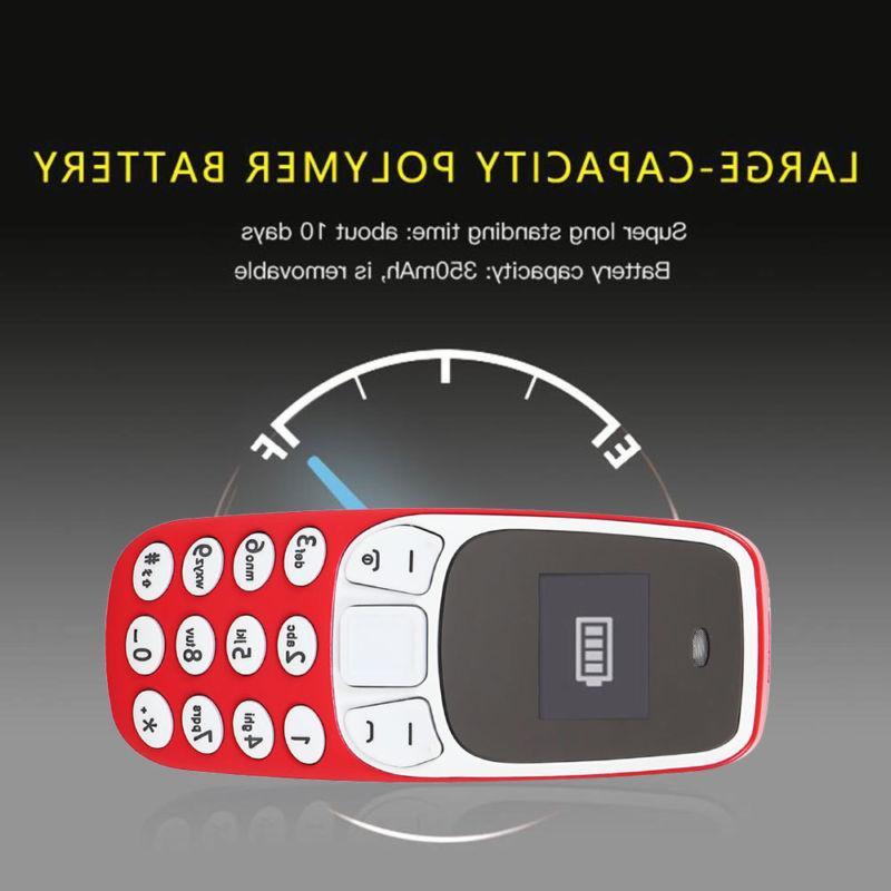 Portable Tiny Micro GSM Dual Sim Bluetooth