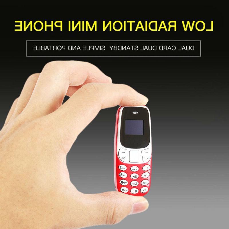 Portable Tiny Small Micro Mobile GSM Dual Sim Bluetooth