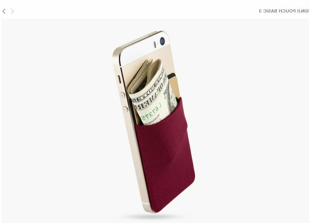 pouch basic 3 cell phone cases covers