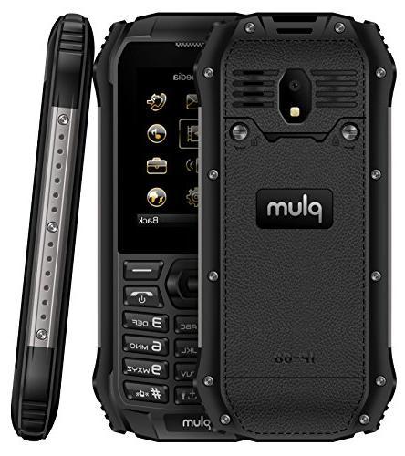 Rugged Unlocked GSM IP Certified Grade Flash FM Radio Card Slot Dual -