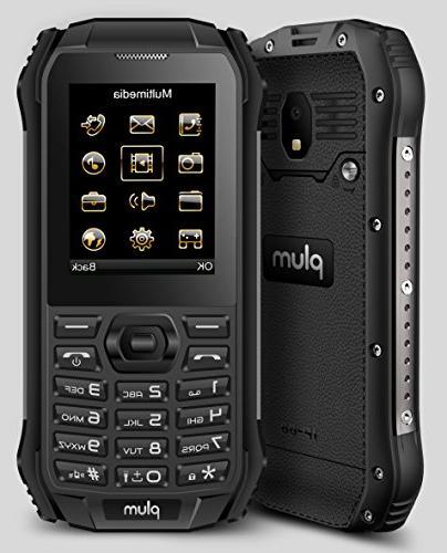 Plum 6 Rugged Phone GSM Shock Proof IP Certified FM -
