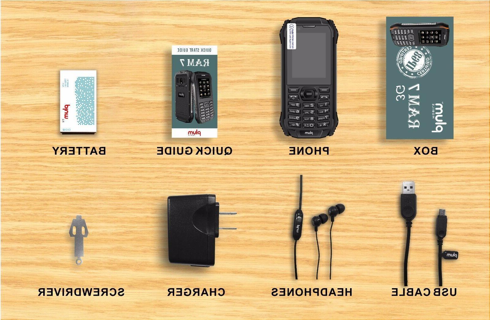 Plum 7 Cell GSM Unlocked Tmobile MetroPCS Simple