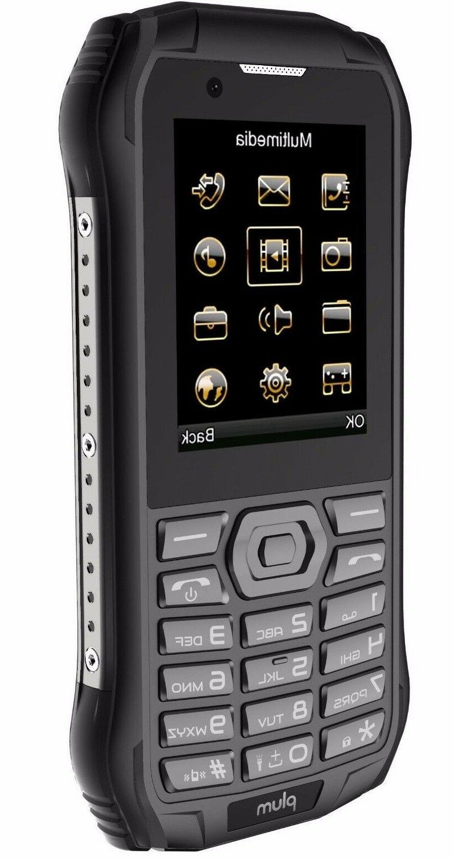 Plum 7 Rugged Cell Phone Unlocked ATT MetroPCS Simple Mobile