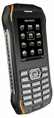 Plum Ram 7-3G Rugged Unlocked Cell Phone GSM - IP68 Certifie