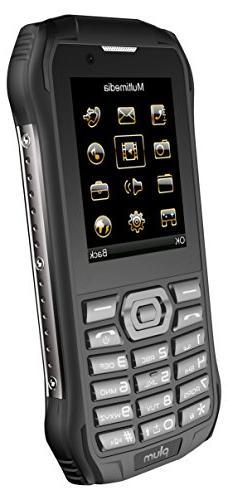 Plum Ram 7 - 3G Rugged Unlocked Cell Phone GSM - IP68 Certif