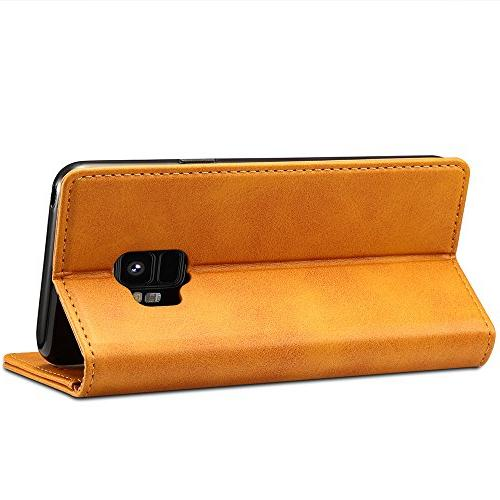 Samsung S9 Wallet Phone Holder Protective Flip Cover,