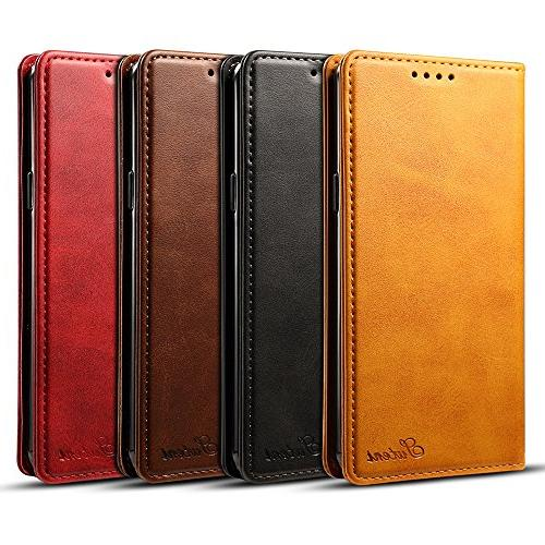 Samsung S9 Wallet Cell Flip Cover,