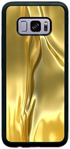 Rikki Knight Silky Gold Design Samsung Galaxy S8 Case Cover