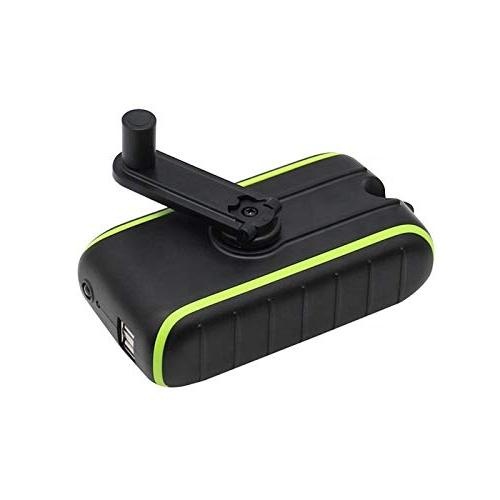 Solar Charger Hand-Crank Charger, Edition, USB Flashlight, Power Modes, Mobile Charger for Indoor