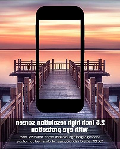 Sudroid SOYES Super 2.5 Android Phone Quad Core 1G+8G 5.0MP Dual SIM Definition Mini