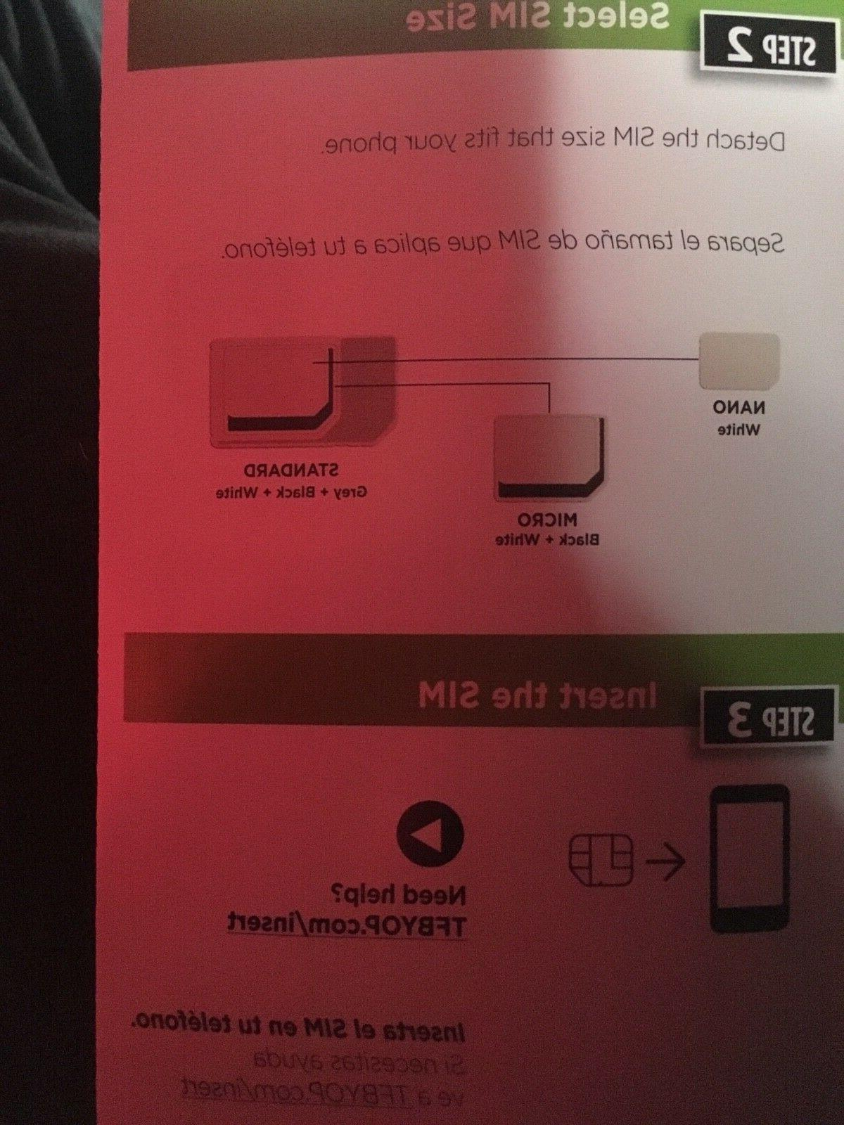 T-mobile SIM NEVER USED hotspots,phones,tablets