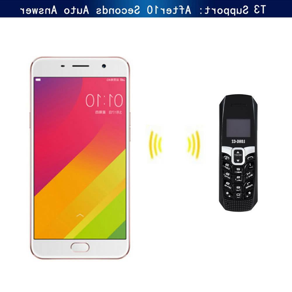Tiny Long Mini Phone with 500mAh