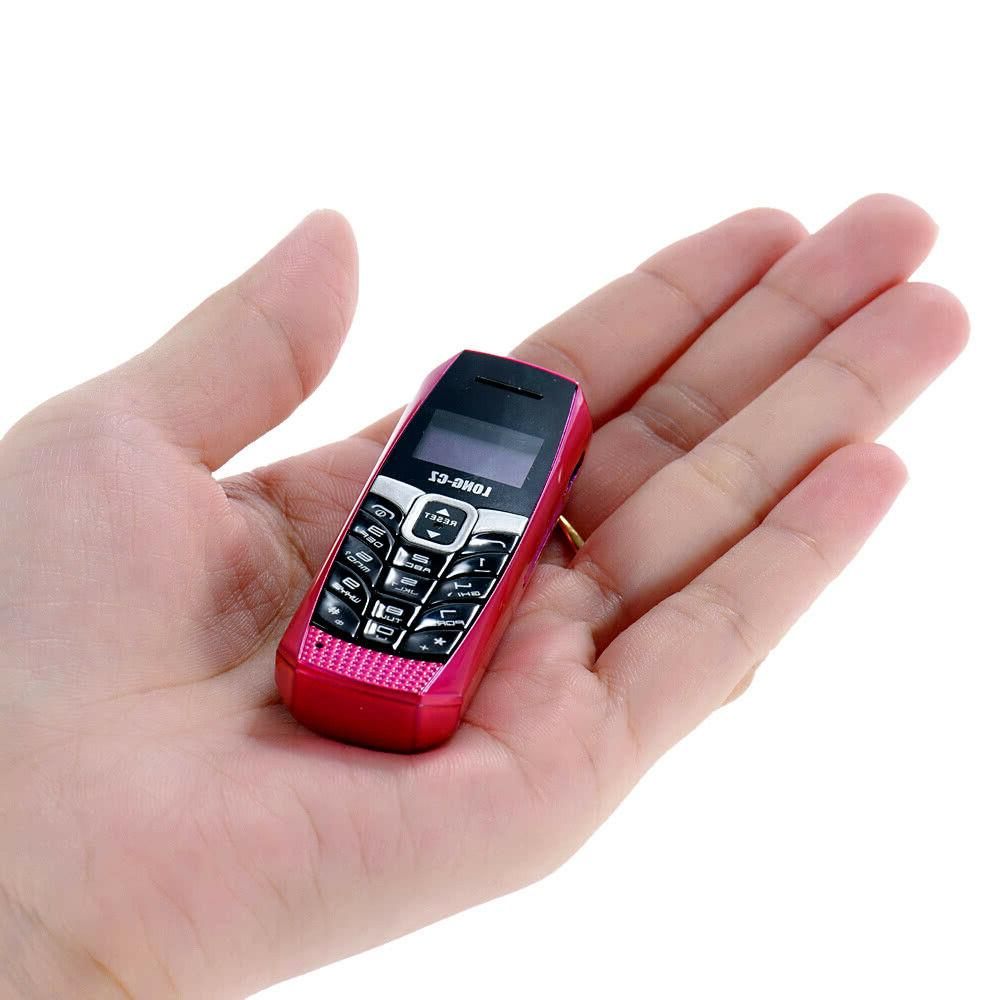 Tiny Long CZ T3 Mini Worlds Smallest Mobile Phone with Voice
