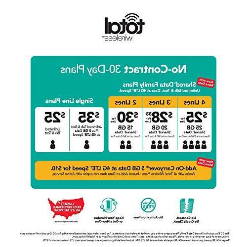 Total Galaxy J3 LTE Prepaid Smartphone