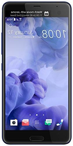 HTC U Ultra 64GB Unlocked GSM Android 7.0 with HTC Sense Sma