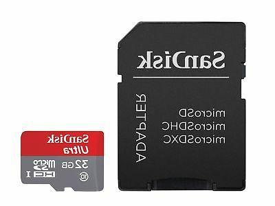 ultra 32gb microsdhc uhs i card