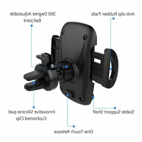 Mpow 360° Rotatable Car Air Mount Cell Phone Stand