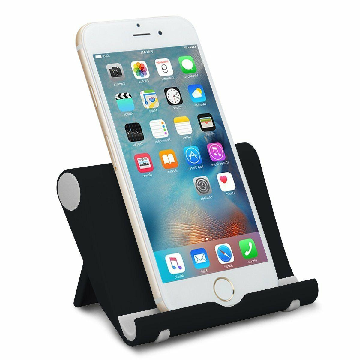 universal foldable cell phone desk stand holder
