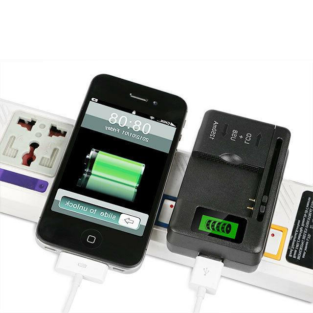 LCD Universal Charger USB Port For Phone Camera
