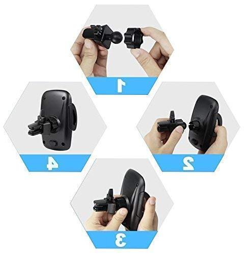 Beam Electronics Car Air Vent Holder Cradle XS XS Max 8 8 Plus 7 6 Plus 5 4s Galaxy S5 S4 LG and More…