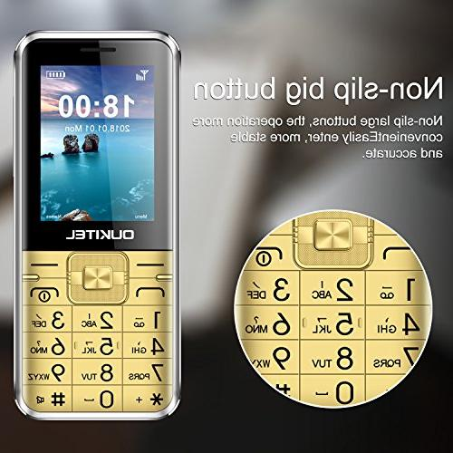 Unlocked L1 Dual Cell Phone 8W Camera Mobile Phone People Big
