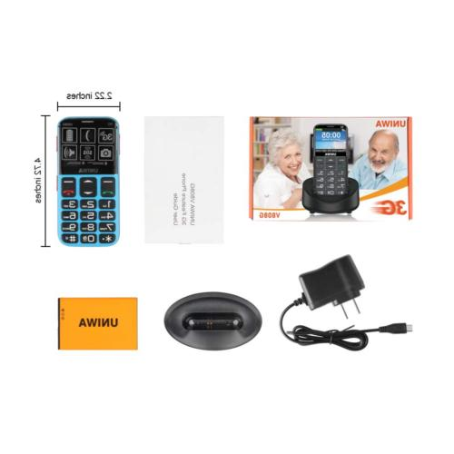 Mosthink Unlocked Cell for Seniors, Cell Phone Basic
