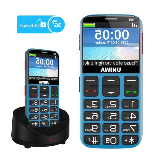 unlocked cell phones for seniors compatible at