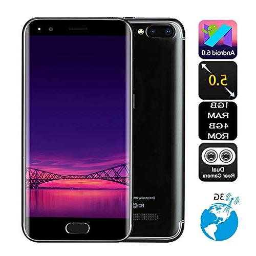 Unlocked Cell Phone, inch HD Smart Phone Android IPS Screen WiFi 3G GSM/WCDMA Phone