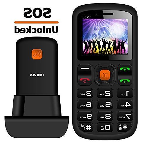 "MOSTHINK Unlocked Senior Phone 1.77"" 2G GSM T-Mobile"