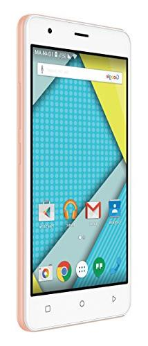 "Plum  5"" Unlocked Smart Cell Phone 4G GSM Android 6.1 Quad C"
