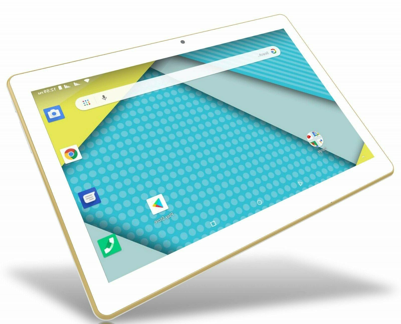 "Plum Unlocked Tablet Phablet 10.1"" Certified"