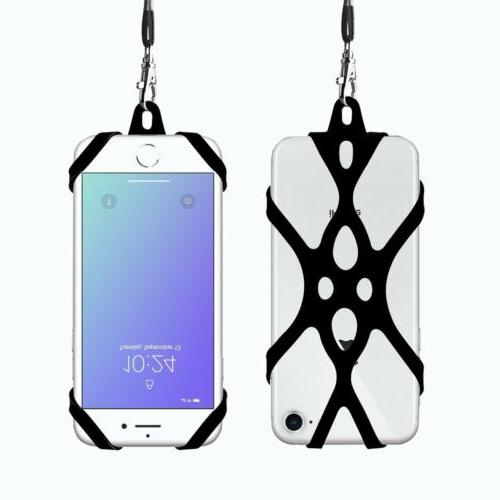 Cell Phone Lanyard Case Cover Holder Sling Necklace Strap Ne