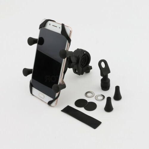 US Stock ATV Cell Phone GPS Mirror Mount